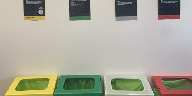 How does Calibre One measure up on its sustainability waste management goals?