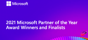2021 Microsoft partner of the year award winners and finalists